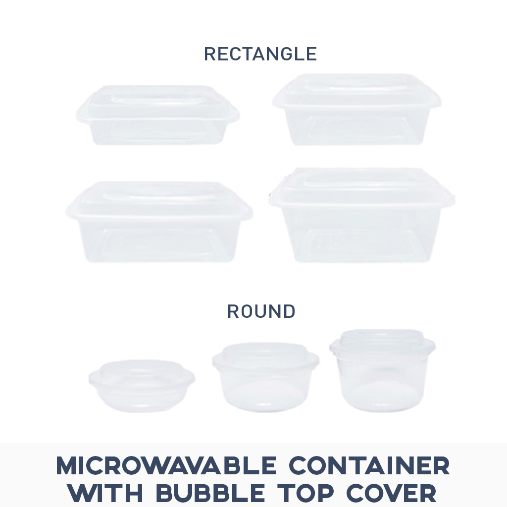 Plastic Container Microwavable Food Prev